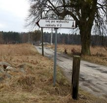 Lisiny-w latach 1944-45 wieś znajdowała się na obszarze poligonu doświadczalnego rakiet V2