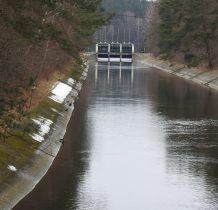 Żur-kanał doprowadzajacy wodę do elektrowni