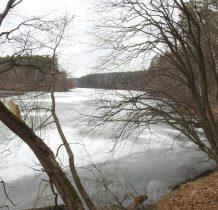 Grzybek-jezioro Żurskie-zbiornik utworzony w 1929 roku na potrzeby elektrowni