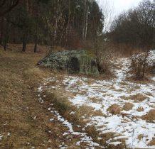 Tleń-po przejściu mostu-głaz olbrzym o średnicy 12 m