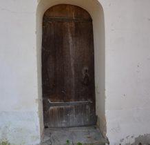 Posada Rybotycka-jedno z drewnianych wejść