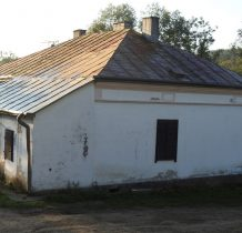 Posada Rybotycka-obok cerkwi-dawna plebania a później szkoła
