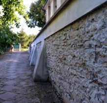 Rybotycze-mur kościelny