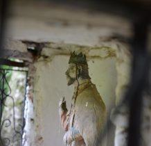 Kopysno-drewniana figura