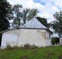 Kopysno-przy cerkwi mały cmentarz