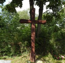 Kopysno-krzyż przy cerkwi