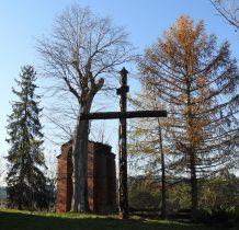Jałowe-krzyż i dzwonnica