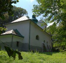 Nowe Sady-cerkiew położona na wzgórzu