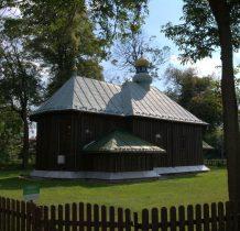 Kłokowice-cerkiew odnowiona w 1903  roku