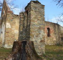 najlepiej zachowane ruiny cerkwi w Bieszczadach