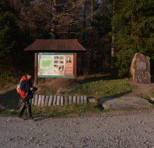 dochodzimy do poczatku ścieżki Rezerwatu Hulskie