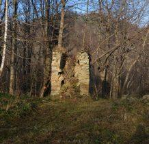 ruiny dzwonnicy z 1854 roku