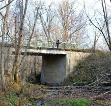 most nad potokiem