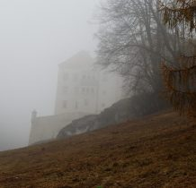zamek od strony maczugi