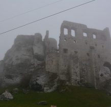 Ogrodzieniec-ruiny zamku