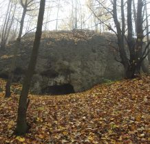 wokół zamku wiele ciekawych skał