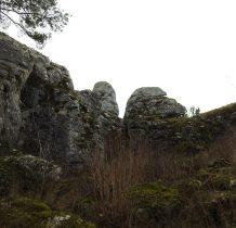 wśród skał