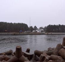 Dziwnów-po wschodniej stronie rzeki