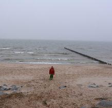 Dziwnów-żegnamy zachodnia plażę