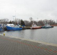 Dziwnów-dochodzimy do portu rybackiego