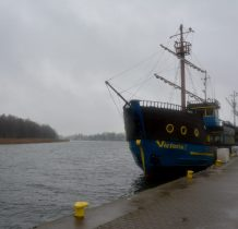 Dziwnów-przy głównej drodze-port statków wycieczkowych