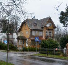 Dziwnów-zabytkowa willa z poczatku XX wieku