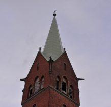 Grodziec-kościelna wieża