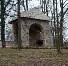 Grodziec-w 1927 roku rozebrano nawę i wieżę