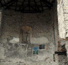Grodziec-w 1984 roku ruiny zabezpieczono