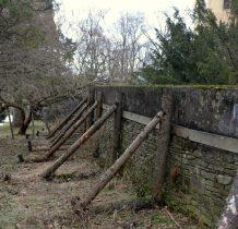 Grodziec-zabytkowy mur zabezpieczony