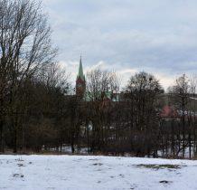 Grodziec-widok na kościół