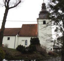 Górki Wielkie-kościół wielokrotnie przebudowywany