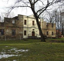 Górki Wielkie-ruiny dworu z 1734 roku