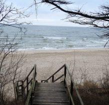 Pobierowo-plaża przy domku
