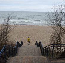 Pobierowo-nigdy nie byliśmy tak często na plaży w różnych miejscach