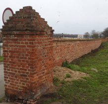 Kamień Pomorski-obronne mury miejskie z XIV wieku