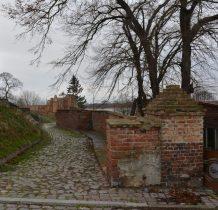 Kamień Pomorski-mury obronne wzdłuż Zalewu Kamieńskiego