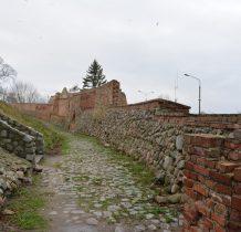 Kamień Pomorski-mury obronne które dawniej miały 8 baszt