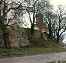 Kamień Pomorski-mury obronne
