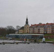 Kamień Pomorski- marina i kościół