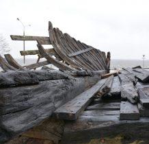 Kamień Pomorski-wrak łodzi