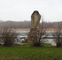 Kamień Pomorski-monument rybaka
