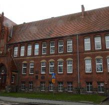 Kamień Pomorski-budynek szkoły podstawowej z 1908 roku