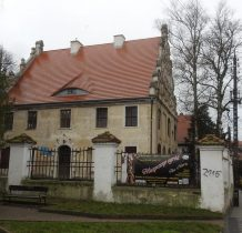 Kamień Pomorski-gotycki pałac biskupi 1568 roku