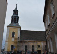 Kamień Pomorski-barokowy kościół z XVIII wieku