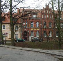 Kamień Pomorski-zabytkowy budynek Poczty Polskiej