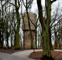 Kamień Pomorski-wodociagowa wieża ciśnien z 1902 roku