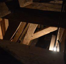 Sadlno-drewniana konstrukcja