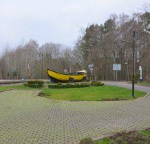 Pogorzelica-w pobliżu stacji kolejki waskotorowej