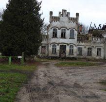 Michałowo-dwór zbudowany na poczatku XIX wieku